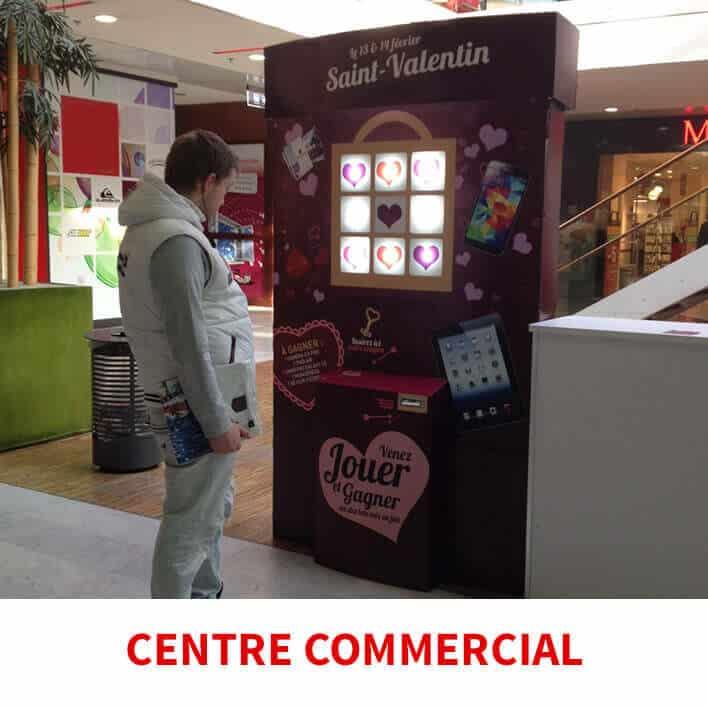 centre commercial saint valentin