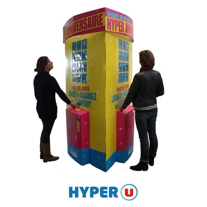 borne interactive hyper u