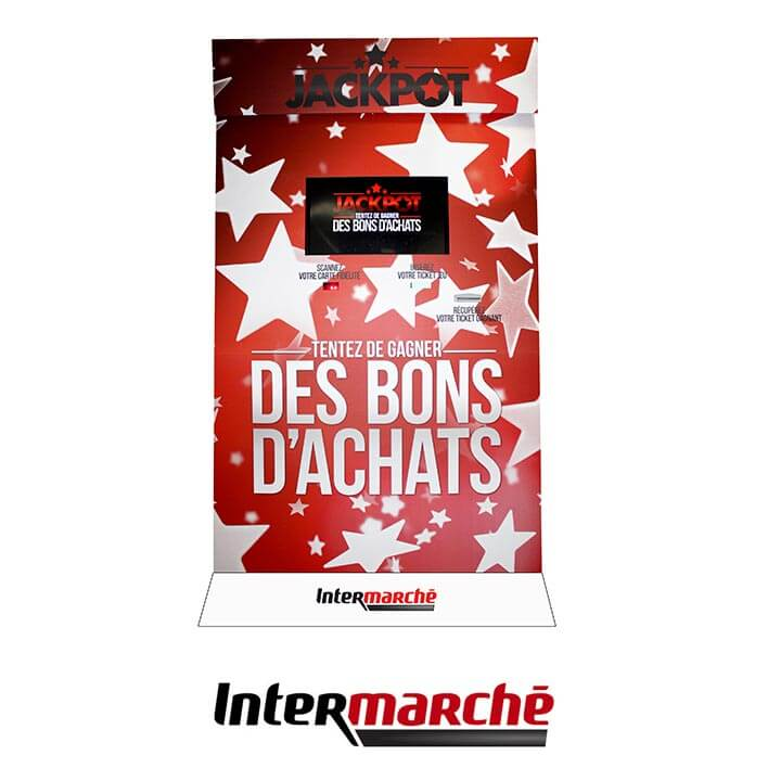 borne tactile intermarche