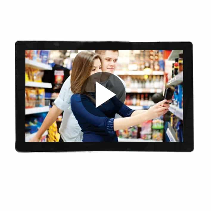 ecran video 19 pouces