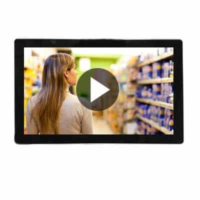 ecran video 22 pouces