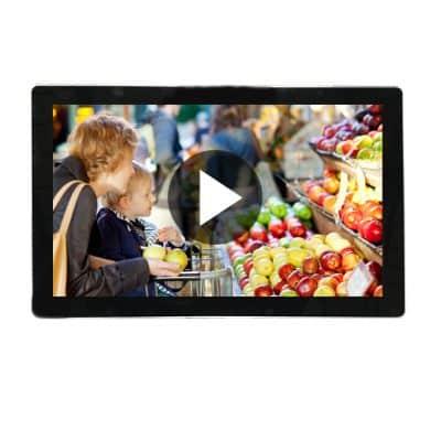 ecran video 55 pouces