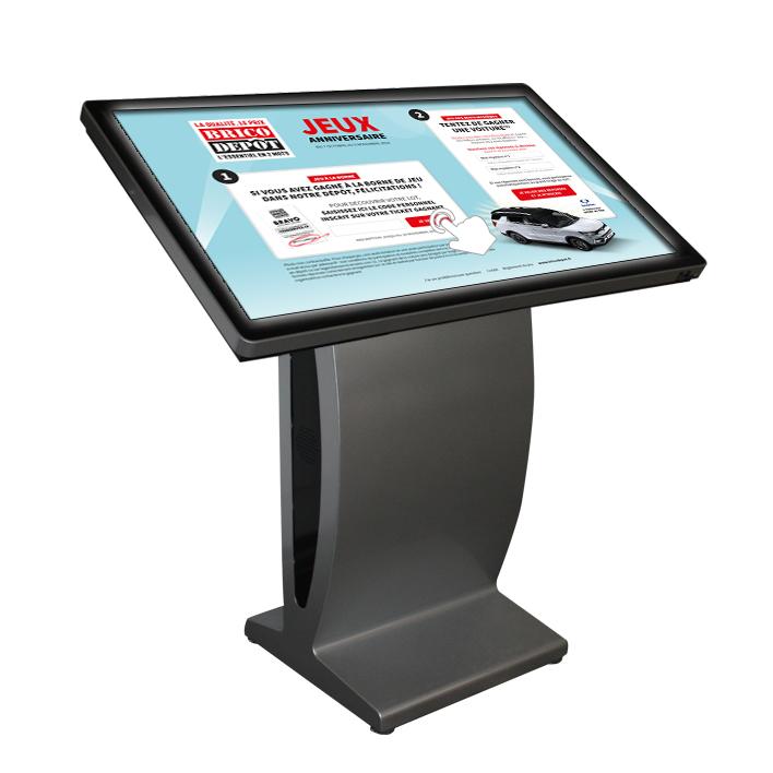 table tactile sur pied 46 pouces