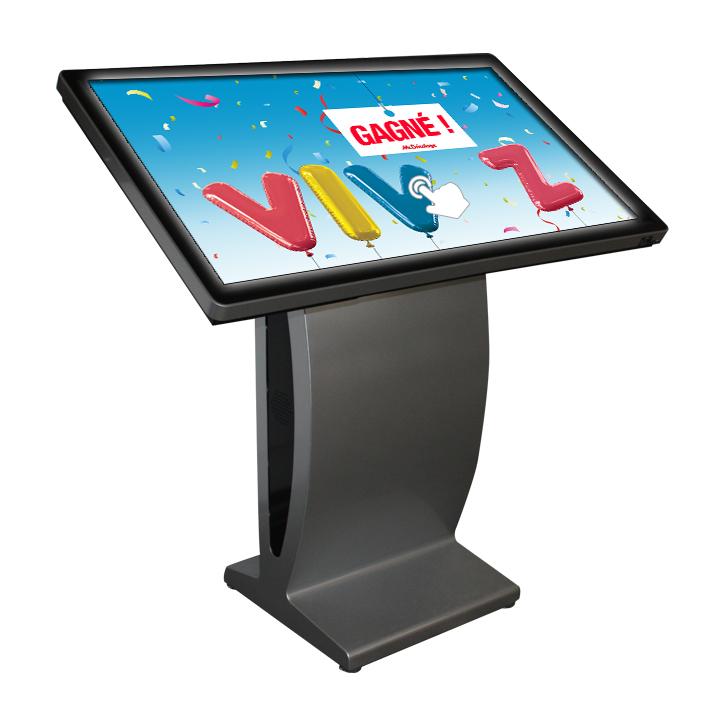 table tactile sur pied 55 pouces