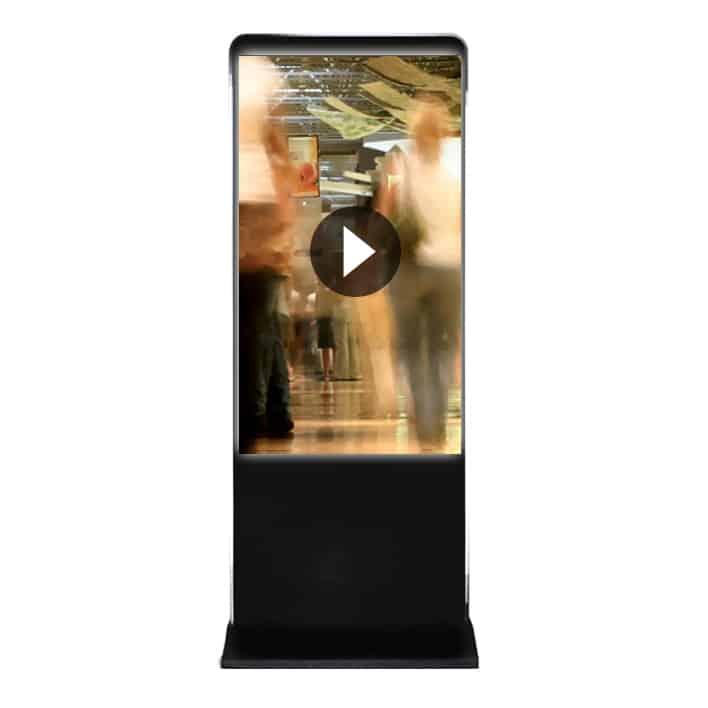 totem video 70 pouces