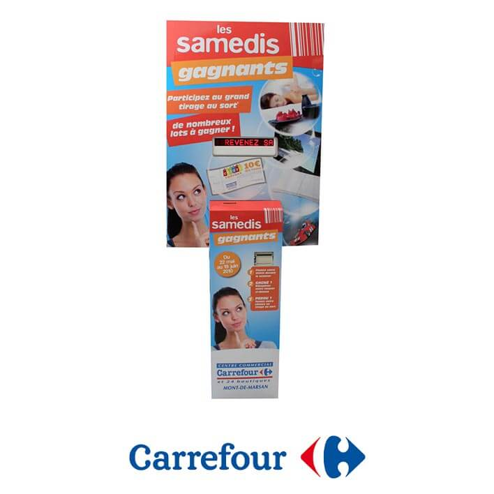 borne audio carrefour