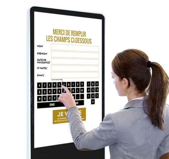 formulaire digital