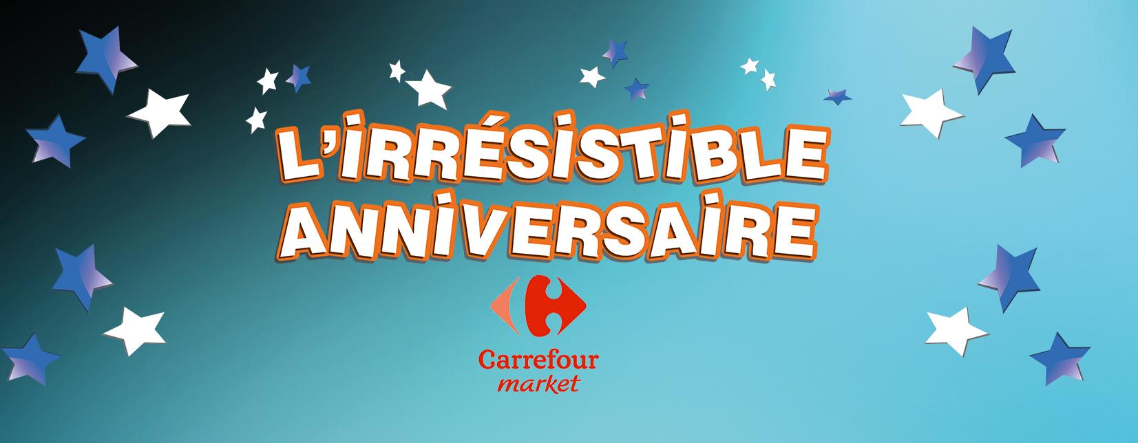 borne de jeu opération Carrefour Market