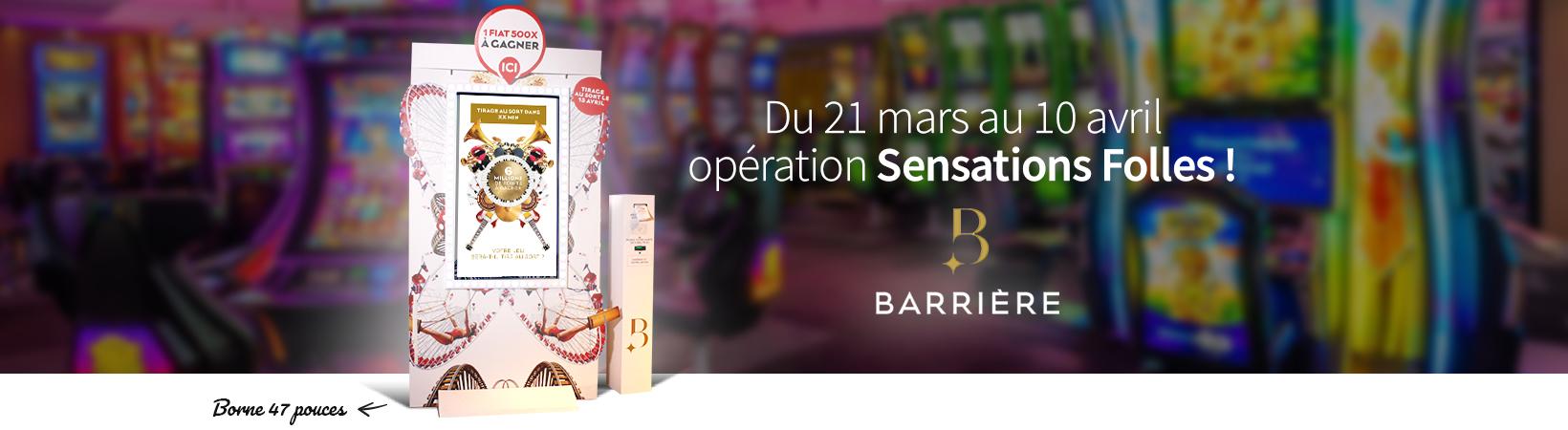 borne de jeu - Opération nationale Barrière