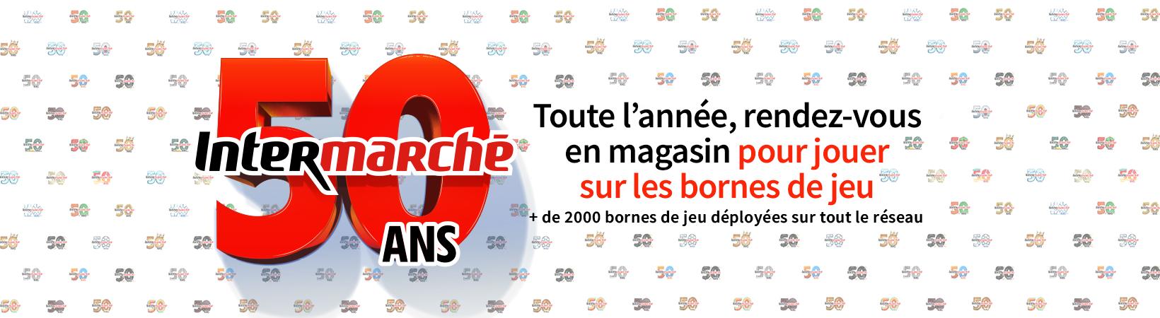 Opération 50 ans Intermarché
