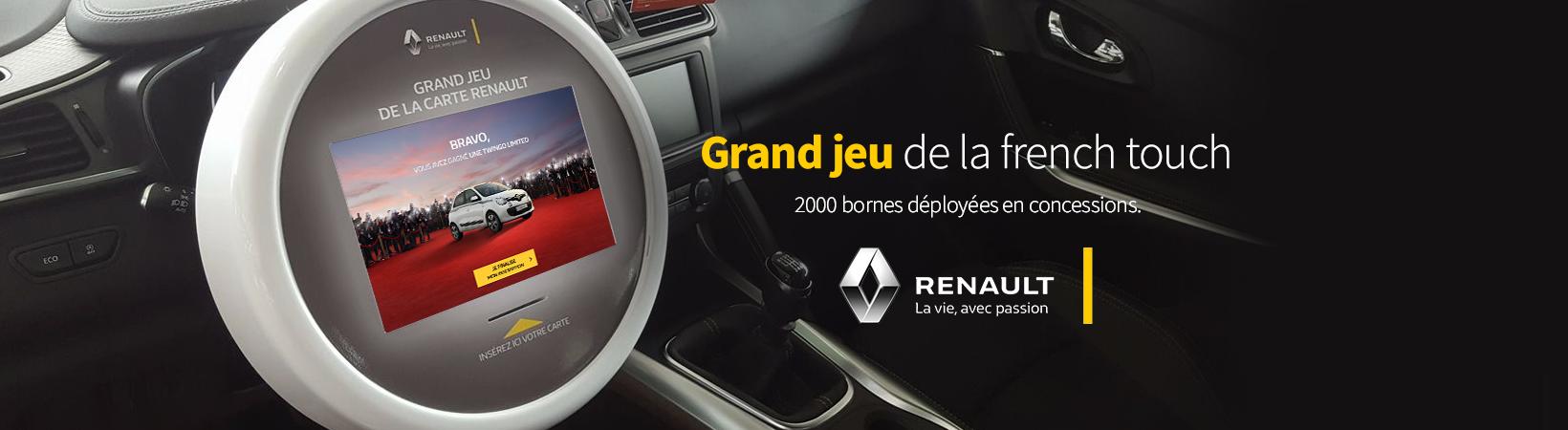borne de jeu - portes ouvertes Renault