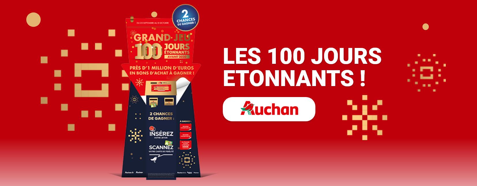 Les 100 jours Auchan - Bornes de jeu