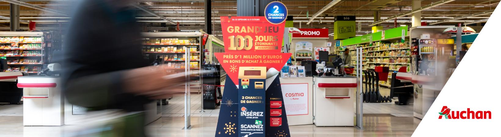 Les 100 jours étonnants Auchan