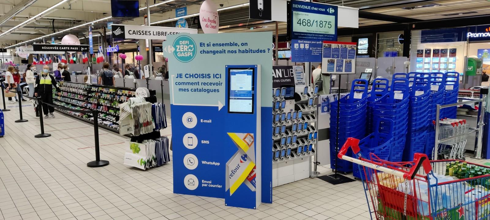 Carrefour et le zéro prospectus