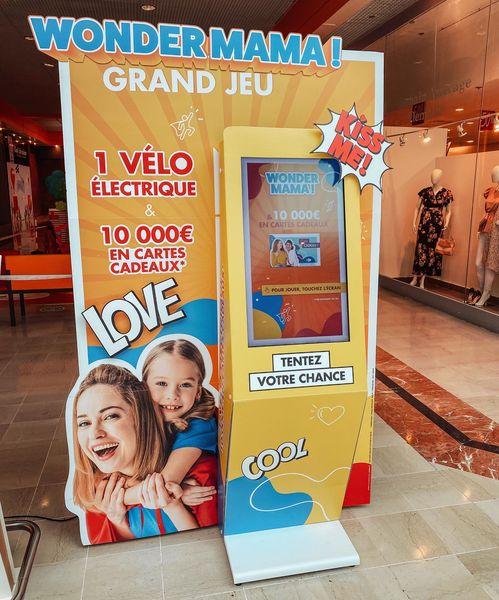 Borne de jeu Carrefour
