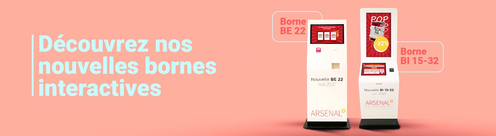 Nouvelles bornes interactives Arsenal