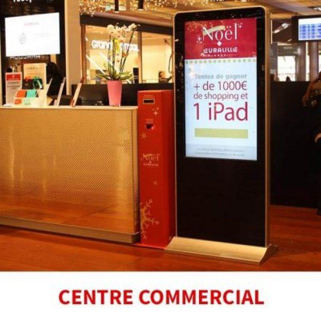 corne interactive centre commercial