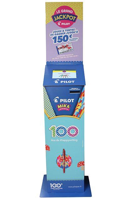 Borne jeux 10 pouces Pilot