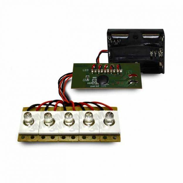 circuit 5 LED CFL WC