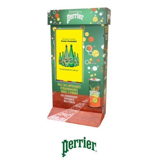 borne animation perrier
