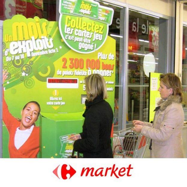 borne droite carrefour market