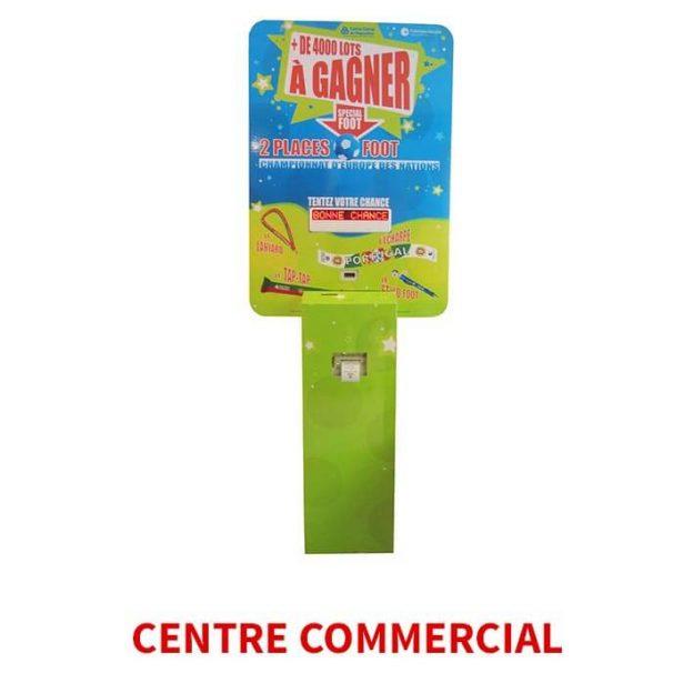 borne digital centre commercial