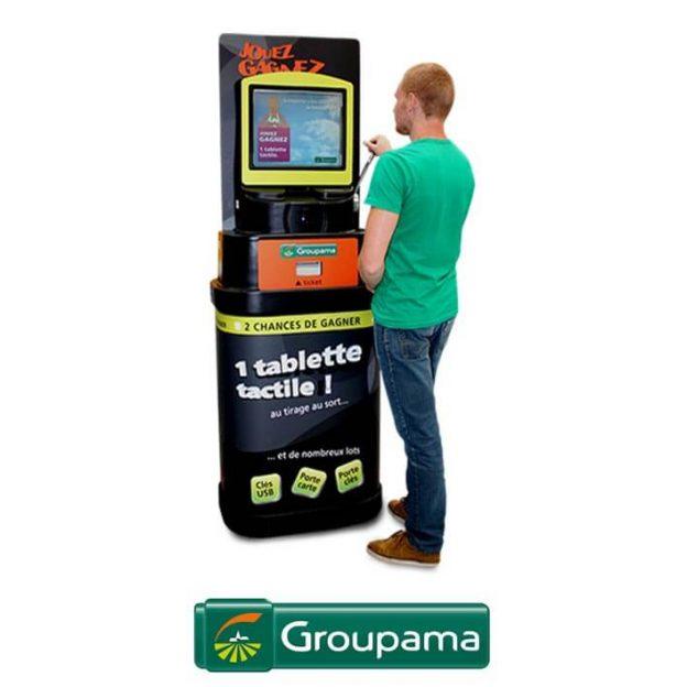 borne de jeu jackpot groupama