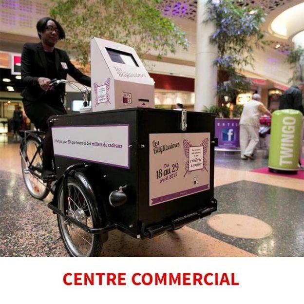tablette centre commercial